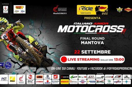 🔴Fin/Ended/Directo/Live..:: ITALIANO JUNIOR MOTOCROSS  ::.. 🏍🏍Final Round Mantova