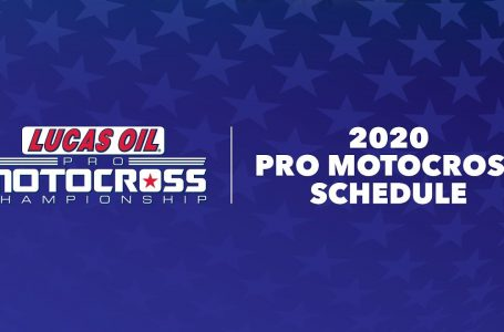 2020 AMA Motocross Championship Schedule  😎