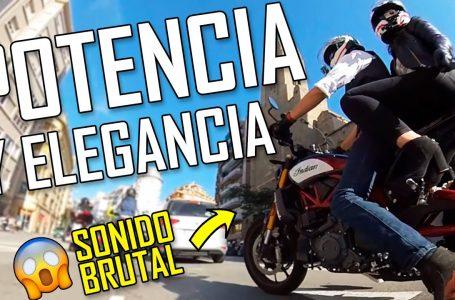 Majes👉POTENCIA Y ELEGANCIA en una moto AMERICANA MUSCULOSA✨