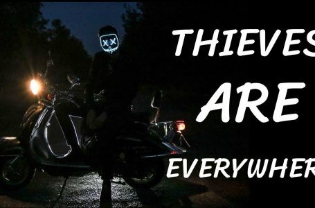 Thieves are everywhere – Motorcycle Security 📳