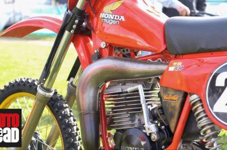 2-stroke retro: Secrets of a 1980 Mugen Honda ME480 twin shock 😎✨
