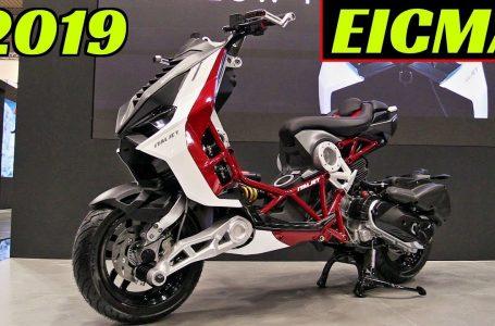 EICMA 2019 Milano: NEW 2020 Italjet Dragster 125/200cc «Urban Superbike» – Walkaround & Details!⭐