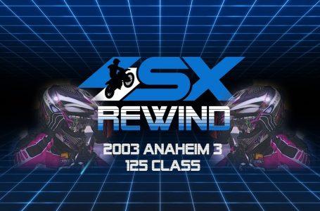 James Stewart / SX Rewind: 2003 Anaheim 3 125 Rewind