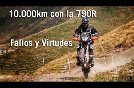 10.000kms con la KTM 790R / Fallos y Virtudes