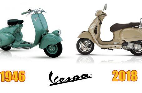 VESPA Piaggio EVOLUTION   From 1946 – 2018