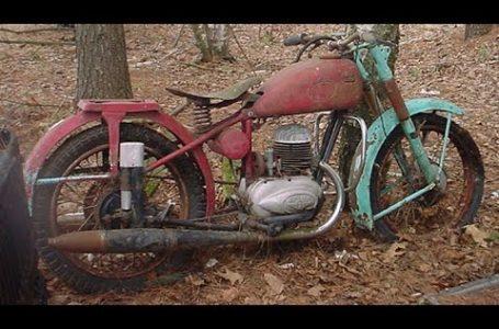 Primer arranque después de muchos años – Motocicletas viejas