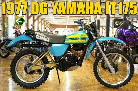1977 DG YAMAHA IT 175 6 SPEED ENDURO