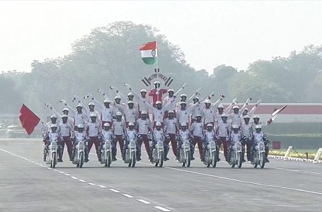 Glimpses of Motorcycle Performance from Annual Army Day Parade 2020 😎✨