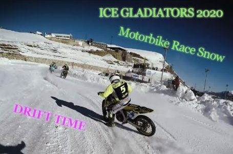 ICE GLADIATORS MOTORBIKE ANDORRA 2020 😎✨