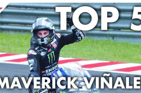 Maverick Viñales' Top 5 Moments from 2019🔝😎