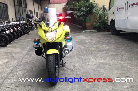 Yamaha 600CC Police Motorcycle 🔛👍