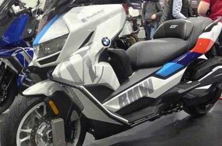 The new BMW C400GT scooter 2020🌿