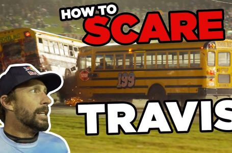 Travis Pastrana Wrecks a Bus