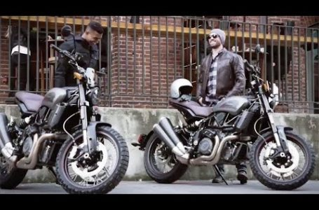 2020 new Indian FTR 1200 Rally Scrambler Retro styling promo video