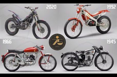 2020-1945 Montesa 75th Anniversary hindsight models promo video