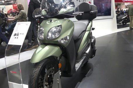 YAMAHA XENTER scooter 2020 walkaround