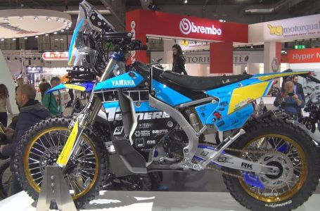 Yamaha WR 450F Africa Eco Race Exterior and Interior