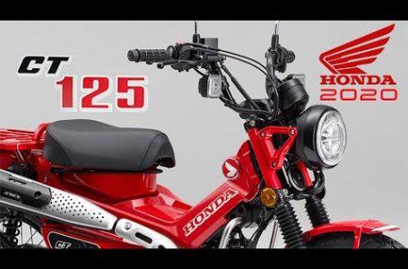 2020 new Honda CT125 Hunter Cub (Japan) studio +details & action photos