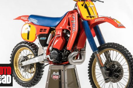 Ultimate 2-stroke 500: Dave Thorpe talks about his 1986 factory Honda RC500