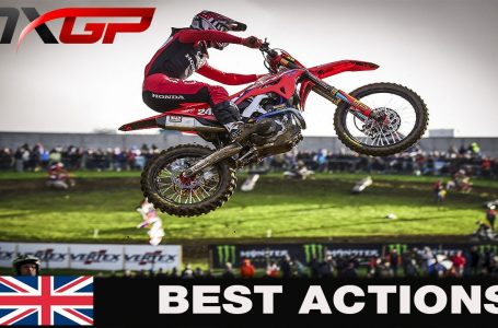 Best Action of the week end MXGP of Great Britain 2020