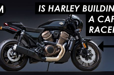 Is Harley-Davidson Building A Cafe Racer (And Flat Tracker) For 2021?