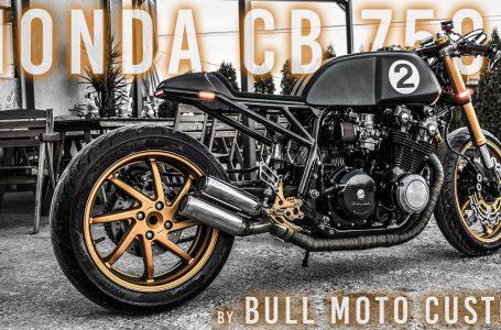 Honda CB 750 by Bull Moto Custom – walkaround