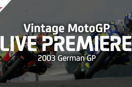 2003 #GermanGP   Vintage MotoGP