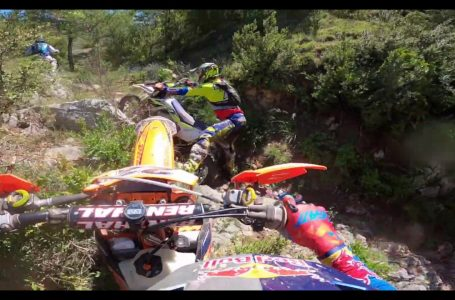 Jonny Walker, Mario Roman and Alfredo Gomez Hard enduro day out