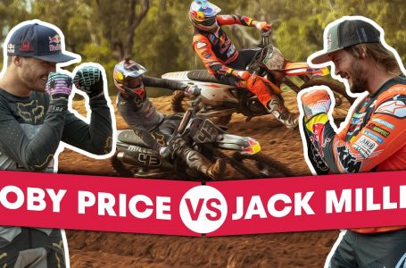 Dakar Winner VS Motogp Star Head-To-Head on a Motocross Track | Miller vs Price