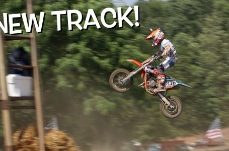 THIS TRACK HAS SOME BIG JUMPS!!! First time riding Tomahawk! / The Deegan´s
