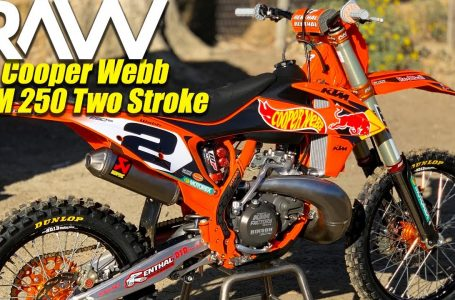Motocross Action tests Cooper Webb's KTM 250 Two Stroke RAW