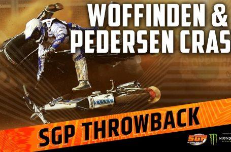 Woffinden & Pedersen Crash in 2013!   FIM Speedway Grand Prix
