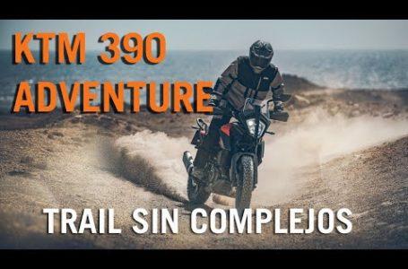 Prueba KTM 390 Adventure. On y Offroad