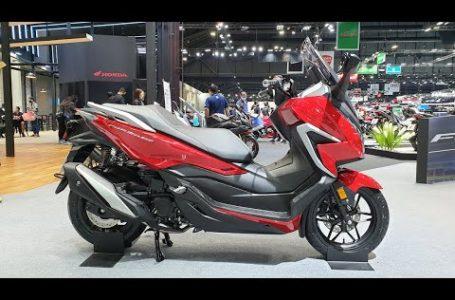 2020 Honda Forza 350 – Red | Walkaround | Bangkok Motor Show 2020