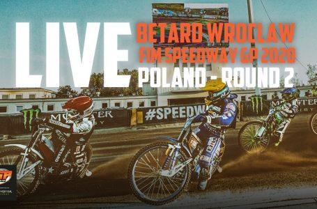 Directo / LIVE Betard Wroclaw FIM Speedway GP 2020 | Poland | Round 2 | FIM Speedway Grand Prix