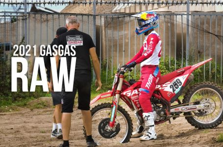RAW – Training on the new GASGAS MC 450F | Glenn Coldenhoff