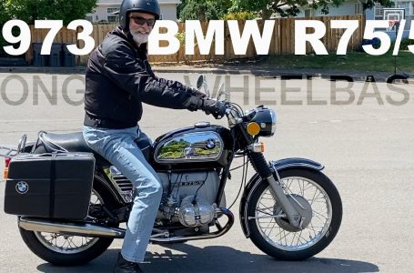 1973 BMW R75/5 – Long Wheel Base