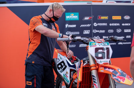 Jorge Prado sube de nuevo al podio de MXGP Faenza 3 al ser tercero