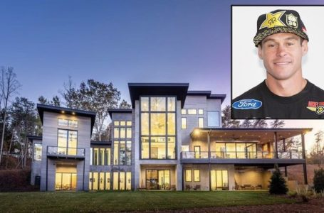 Professional freestyle motocross racer and rally racer Brian Deegan is selling his California and North Carolina houses