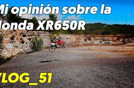 Mi opinión sobre la Honda XR650R – VLOG_51