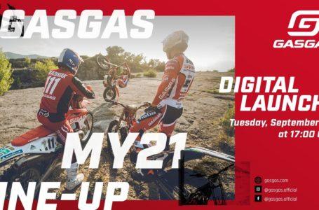 Vídeo presentación en directo de la nueva gama GASGAS