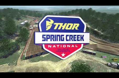 2020 Spring Creek National – Animated Track Map