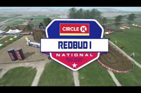2020 RedBud National – Animated Track Map