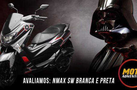 2020 new Yamaha Nmax Star Wars Limited Edition (Brasil) photos & details