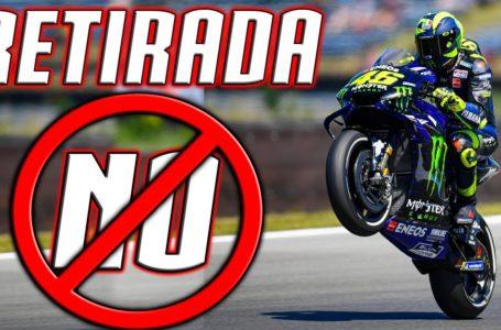 Valentino ROSSI RESPONDE a la NOTICIA de SU RETIRADA de MOTO GP