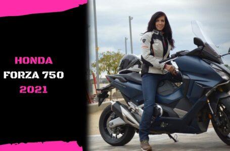 HONDA FORZA 750 – NOVEDAD 2021 ¿El mejor scooter?