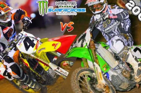 RICKY CARMICHAEL VS JAMES STEWART – 2006 SUPERCROSS