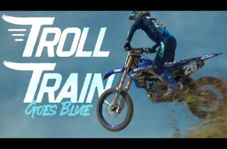 Troll Train – Goes Blue