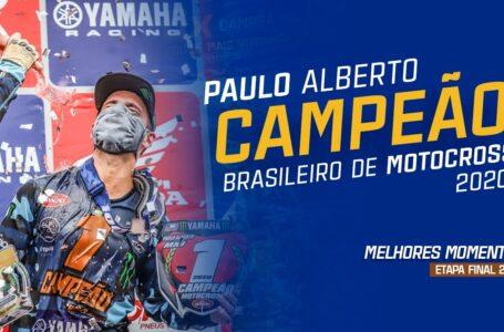 CAMPEÃO BRASILEIRO DE MOTOCROSS 2020 – Melhores momentos da final BRMX 2020