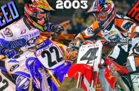 RICKY CARMICHAEL VS CHAD REED – 2003 SUPERCROSS